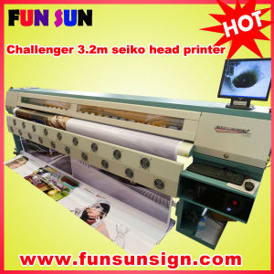 Infiniti Fy-3208r 3.2m Outdoor Cheap Large Format Banners Printer (8 SPT510/35/pl heads, economic price) pictures & photos