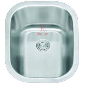 Kitchen Sink, Single Stainless Steel Sink (A72) pictures & photos