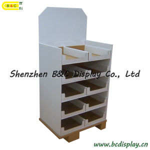 Candle Cardboard Display Shelf, Paper Pallet Display Stand (B&C-A077) pictures & photos