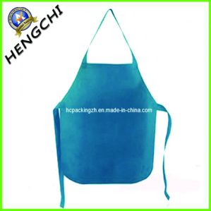Ero-Friendly Non Woven Disposable Apron for Cooking pictures & photos