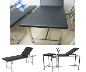 Electric Medical Examination Table/Exam Table/Therapy Treatment pictures & photos