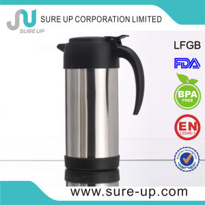 1.0L, 1.5L, 2.0L Drinking Water Jug, Straight Body Stainless Steel Tea Pot for Hotel pictures & photos