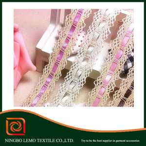Best Selling Water Soluble Chemical Cotton Lace pictures & photos