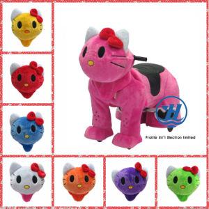 Animal Rides Cat Game Machine for Children (ZJ-KAR-C) pictures & photos