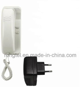 ABS Plastic Audio Indoor Monitor for Villa Intercom System pictures & photos