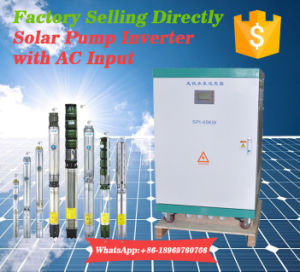 460VAC Solar Inverter with AC Input Optional for Farmland Irrigation 1-50HP Pumping pictures & photos