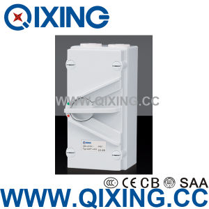 Weatherproof Plastic IP66 Single-Pole Isolating Switch (QXF1-263) pictures & photos