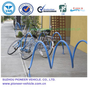 ISO Approved Spiral Multi-Positions Steel Bike Rack Bike Stand pictures & photos
