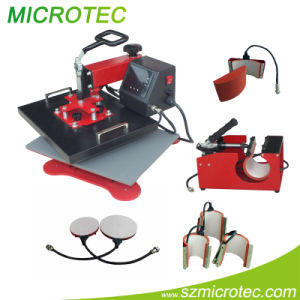 Multi-Functional Heat Press Machine - 6 in 1 Heat Press (ECH-600)