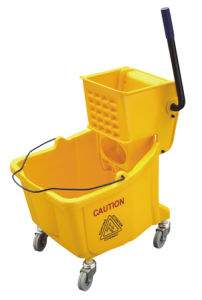 Plastic Single Mop Wringer Trolley (YG-36) pictures & photos