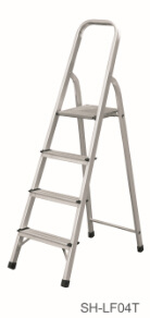 Step Stool Foldable Aluminum Ladder (SH-LF04T) pictures & photos
