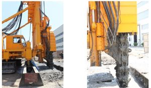 Trench Cutting Re-Mixing Deep Wall Trd Method Machine