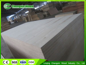 White Birch Plywood Poplar Core E1 Glue C/D Grade pictures & photos