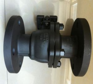 2.5MPa Flanged Ball Valve for Water Gas Oil pictures & photos