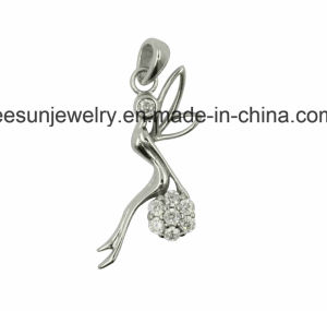 925 Sterling Silver Angel Pendant pictures & photos