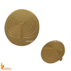 New Products Custom Gold Round Metal Plate pictures & photos