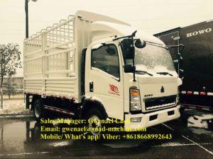 Isuzu Engine Sinotruk HOWO 4X2 4 Ton Stake Light Truck Rhd/LHD