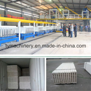 Foamed Cement Wall Panel Production Line pictures & photos