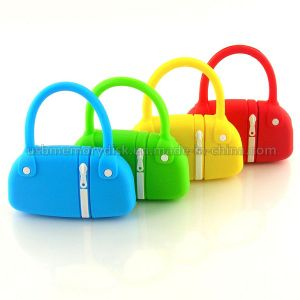 Lovely Cartoon Mini Handbag Shape USB Flash Drive (CT-005)