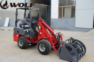 Compact 600kg Mini Wheel Loader with Electric Control pictures & photos