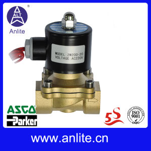Normally Closed 2 Way Brass Water Solenoid Valve