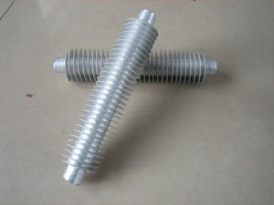 Extruded Aluminum Finned Tube for Heat Exchanger pictures & photos