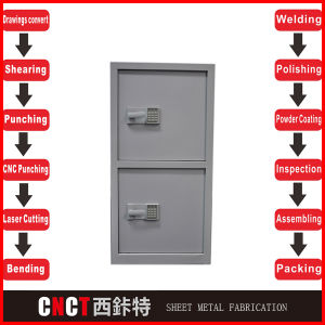 China Easy Metal Movable Filing Cabinet pictures & photos