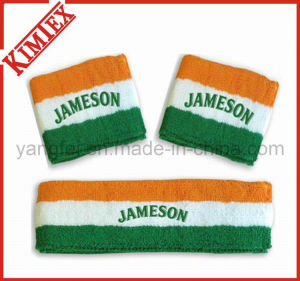 Cotton Terry Sports Wristband and Headband (kimtex-66) pictures & photos
