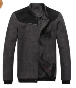 Custom Logo Winter Fashion Men Casual Jacket pictures & photos