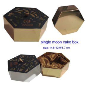 Single Special Mooncake Paper Packaging Boxes pictures & photos