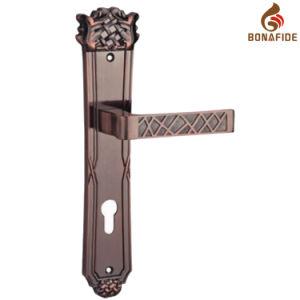 High Quality Full Zinc Door Lock Handle-059 pictures & photos