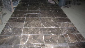 Domestic Marble Slab Dark Emperador for Floor/Wall pictures & photos