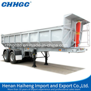 Hydraulic Tipper Trailer/Rear Dump Truck Semi Trailer pictures & photos