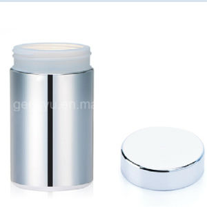 80z/250 Ml Slive Chromed/ Metallized HDPE Powder Plastic Jar pictures & photos