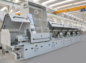 Straight Line Low/Mild Carbon/Stainless Steel Wire Drawing Machine (From dia. 16mm-dia. 2mm)