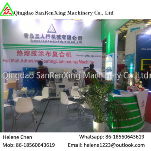 Hot Melt Adhesive UV Paper Coating Machine for Sticker pictures & photos
