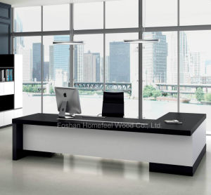Modern Veneer Office Furniture Executive Manager Desk (LT-A182) pictures & photos