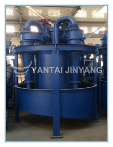 Gold Tailings Recycle Processing Machine, Hydrocyclone+Vibrating Screen+Thickener pictures & photos