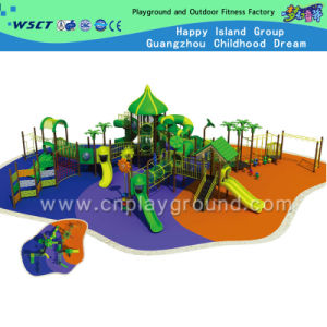 New Design Large Outdoor Playground System for Children (HD-3202) pictures & photos