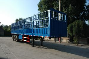 Tri Axle Wall Side Semi Trailer/Manufacture Semitrailer pictures & photos
