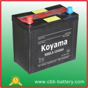 JIS Standard SMF Starting Vehicle Battery 45ah 12V pictures & photos