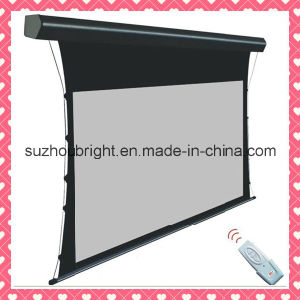 Home Cinema Tab Tension Projection Screen pictures & photos