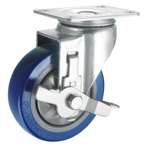 Medium Duty PVC Caster (Blue) (Y3603) pictures & photos