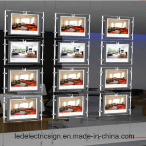 Double Side Hanging Display Signs with Magnetic Catch for LED Sign Board pictures & photos