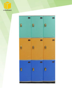 ABS Plastic Locker Storage for Gym Room pictures & photos