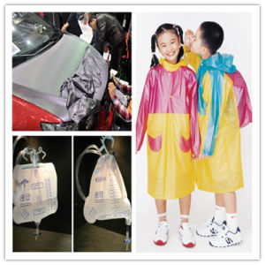 Transparent Flexible Soft PVC Film for Freezer PVC Stripe Curtain pictures & photos