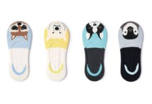 Fashion Cartoon Dog Jacquard Invisible Boat Cotton Sock in Various Colors and Designs pictures & photos