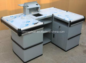 Supermarket Cash Counter with Entrance Bars pictures & photos