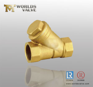 Forging Y Type Brass Strainer pictures & photos