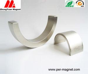 Semi-Circle Sinteringndfeb Pemanet Magnet for Stepping Motor